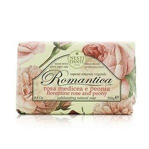 ネスティダンテ ロマンティカ エンシャンティング ナチュラル ソープ #Florentine Rose & Peony 250g|kosmake-belleza