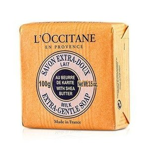 ロクシタン シアバター エクストラ ジェントル ソープ #ミルク 100g|kosmake-belleza