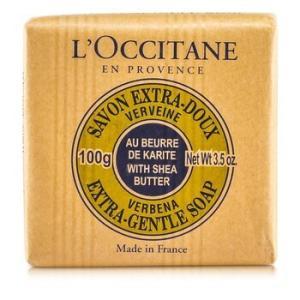 ロクシタン シアバター エクストラ ジェントル ソープ #ヴァーベナ 100g|kosmake-belleza