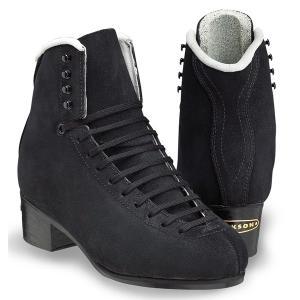 フィギュアスケート スケート靴 JACKSON(ジャクソン) エリート 黒スエード|kosugi-skate