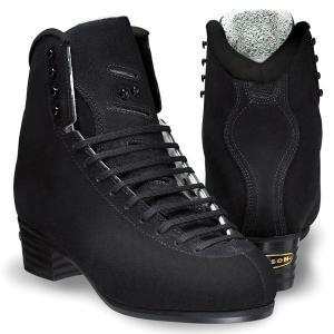 フィギュアスケート スケート靴 JACKSON(ジャクソン) エリート シュープリーム 黒スエード|kosugi-skate