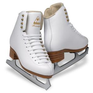フィギュアスケート スケート靴 JACKSON(ジャクソン) フリースタイル ミラージュ セット 白|kosugi-skate
