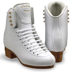 フィギュアスケート スケート靴 JACKSON(ジャクソン) プレミア 白 kosugi-skate