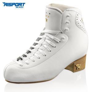 フィギュアスケート スケート靴 RISPORT(リスポート) RF3 PRO 白|kosugi-skate