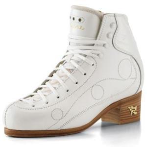 フィギュアスケート スケート靴 RISPORT(リスポート) ロイヤル 白|kosugi-skate
