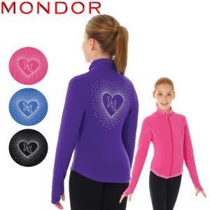 フィギュアスケート ウェア MONDOR(モンドール) ポーラテックラインストーンジャケット 34482 [4colors] kosugi-skate