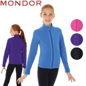 フィギュアスケート ウェア MONDOR(モンドール) ポーラテックラインストーンジャケット 34483 [4colors] kosugi-skate