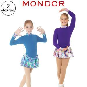 フィギュアスケート ウェア MONDOR(モンドール) ポーラテックドレス 4423 [2designs] kosugi-skate