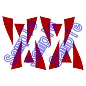 【セット内容】タトゥーシール/練習用ミニシール/説明書  もののけ姫 サン コスプレ用タトゥーシール...
