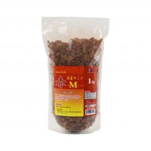 JUN 赤溶岩サンドM 1kg