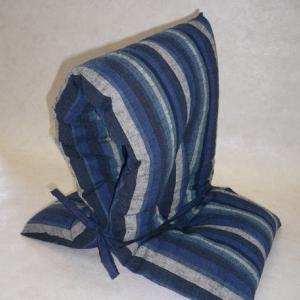 遠州綿紬の風合いと機能を活かし.身近に置ける防災頭巾...