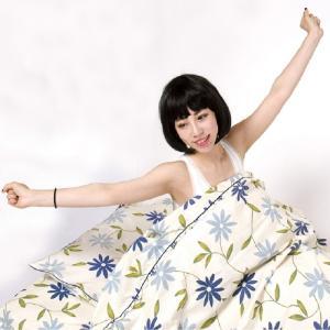 送料無料 わけあり商品説明 掛け布団カバー写真イメージで 衿無しの商品 国産 綿100% 可愛い花柄|kotobuki-inaho|02