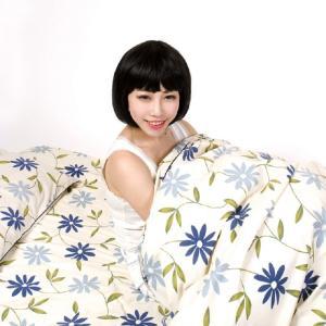 送料無料 ダブル敷布団カバー 145x205cm 145x215cm  日本製 綿100% の写真