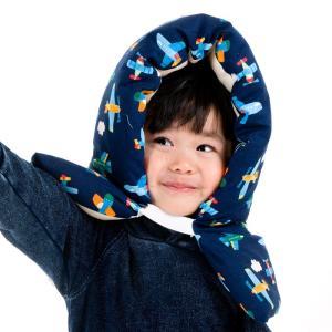 国産/.綿100%/子ども用防災頭巾/飛行機コン/ 保育園・幼稚園〜小学校低学年程度迄におすすめです...