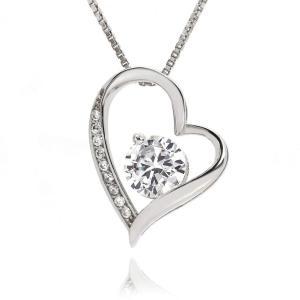 大人可愛いを演出してくれるオープンハートネックレスです。 大切な女性、愛する女性への贈り物として 最...