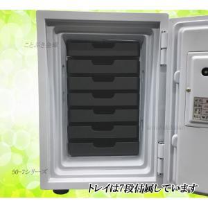 送料無料 DW50-7 ダイヤセーフ カギ式耐...の詳細画像3