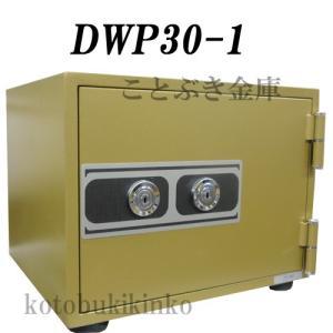 送料無料 DWP30-1 ダイヤセーフ カギ式小型耐火金庫  新品 家庭用耐火金庫 カギを差し込み回すだけの簡単な操作[代引き不可]|kotobukikinko|02