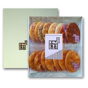 醤油せんべい 詰合せ 合計16枚入り5種類の味が楽しめます|kotobukiseika