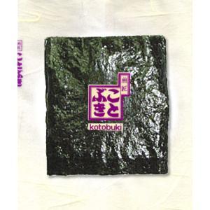 高級海苔巻せんべい 有明産の高級海苔巻を両面に使用|kotobukiseika
