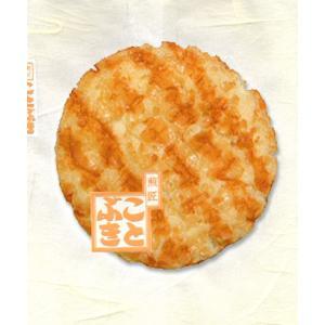 うに揚せんべい ウニを使用した濃厚なタレで味付け|kotobukiseika