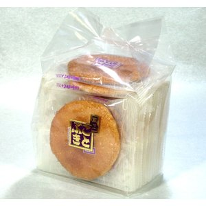 醤油せんべい 袋入り 伝統の味を伝える煎匠ことぶきの醤油せんべい|kotobukiseika