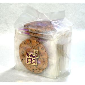 ゴマせんべい 胡麻せんべい 袋入 ビタミン・カルシウム豊富なゴマたっぷり|kotobukiseika