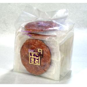 たまりせんべい 袋入 コクがあり濃厚な旨味の溜まり醤油使用|kotobukiseika
