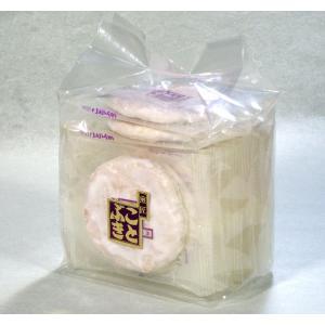 白砂糖せんべい 袋入 甘さを控えたメレンゲで煎餅を包みました|kotobukiseika