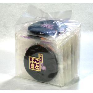 海苔巻せんべい 袋入 有明産の高級海苔を丁寧に巻き上げました|kotobukiseika