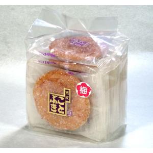 梅ザラメせんべい 袋入 ザクザクザラメと梅肉をまぶしました|kotobukiseika