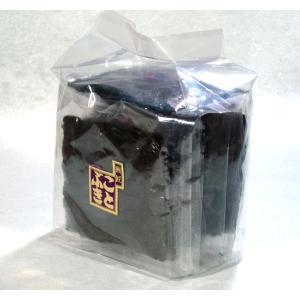 高級海苔巻せんべい 袋入 有明産の高級海苔を両面に使用|kotobukiseika