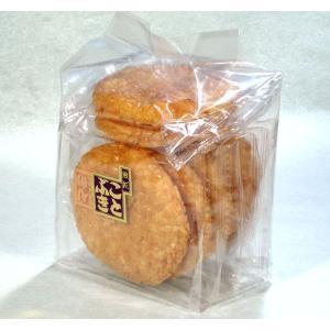蜂蜜揚げせんべい 袋入 揚げた煎餅を蜂蜜入りの醤油で味付け|kotobukiseika