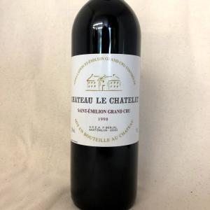 シャトー ル シャトレ 1998年 赤 フランス ボルドー サンテミリオン 熟成 古酒|kotobukiyasake