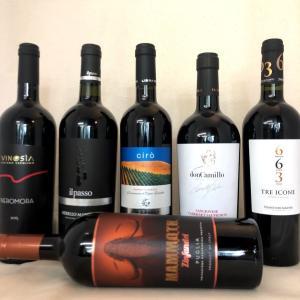 【送料無料】ソムリエ厳選 イタリア フルボディ 赤ワインセット6本セット 濃厚|kotobukiyasake