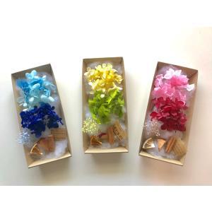 ハーバリウム キット 花材のみ 10色から選ぶあじさい かすみ草  プリザーブドフラワーキット