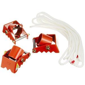 タコマン 三脚ベース ロープ付 使用荷重1.0t 単管パイプの脚部用補助具 φ48.6mm用 TS-20B|kotohugshop