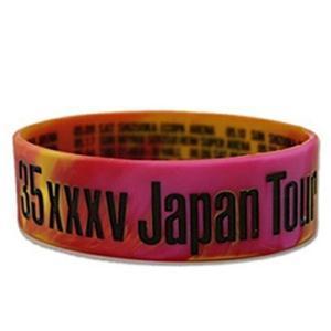"ONE OK ROCK ラバーバンド ピンク/ 2015 ""35xxxv"" JAPAN TOUR/ワンオクロック|kotohugshop"