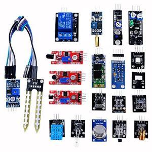 OSOYOO(オソヨー) DIY センサーモジュール キット 常用20個 for Arduino/raspberry ボード 学生実験に最適 kotohugshop