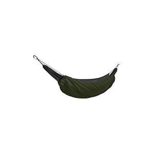 WINGONEER屋外すべての天気キャンプハンモック断熱材ナイロン寝袋、毛布として使用、キャンプミリタリー睡眠断熱材ヒートパーセルハンモック - ミリ kotohugshop