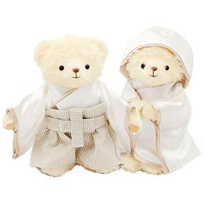 【プティルウ】幸せを贈る、新郎新婦のクマの夫婦守り ノーマル|kotohugshop