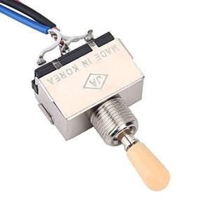 エレキギター配線ハーネス ワイヤハーネス 三方スイッチ 2ボリューム2トーン1ジャックハーネス ギター交換部品 パーツ|kotohugshop