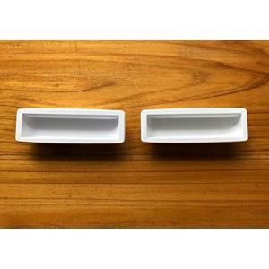 三和シャッター製 旧型手掛け樹脂製(ホワイト) kotohugshop