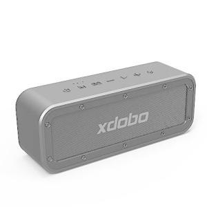 xdobo ブルートゥーススピーカー Bluetoothスピーカー スマホスピーカー 40w大音量 超重低音 防水 IP67 イコライザ設定可 TWS|kotohugshop