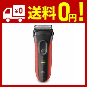 ブラウンシリーズ3 3030sは、さまざまな方向に生えるヒゲを効率的に剃りきる電気シェーバー。 ●デ...