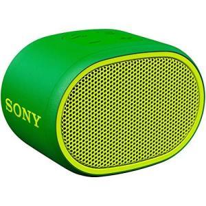 ソニー ワイヤレスポータブルスピーカー SRS-XB01 G : 防水 Bluetooth スマホな...