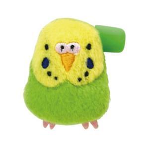 【セキグチ】ぬいぐるみバッジ セキセイインコ グリーン GR ◆ ぬいバッジ kotoricafe