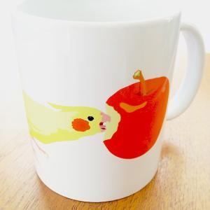 【ことりちゃん】オカメインコ マグカップ|kotoricafe