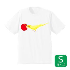 【ことりちゃん】ことりちゃんTシャツ(オカメインコ)Sサイズ|kotoricafe