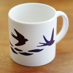 【ことりちゃん】しあわせをはこぶツバメ マグカップ|kotoricafe