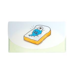 【ことりカフェ×shigemi】抗菌マルチケース セキセイインコ ◆ マスクケース チケットケース|kotoricafe